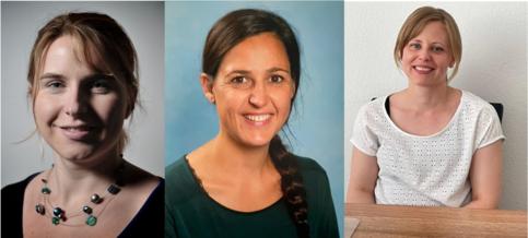 Helena Hautle, Franziska Gemperle, Nicole Riedener